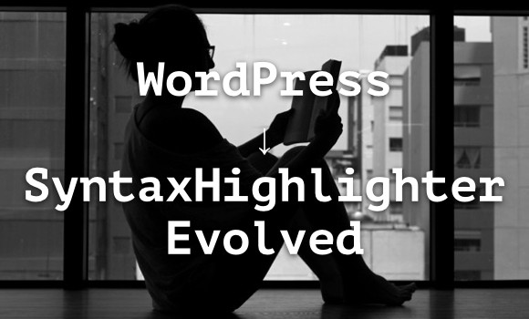 wp-SyntaxHighlighter Evolved
