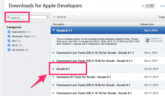 xcode-multi-version5