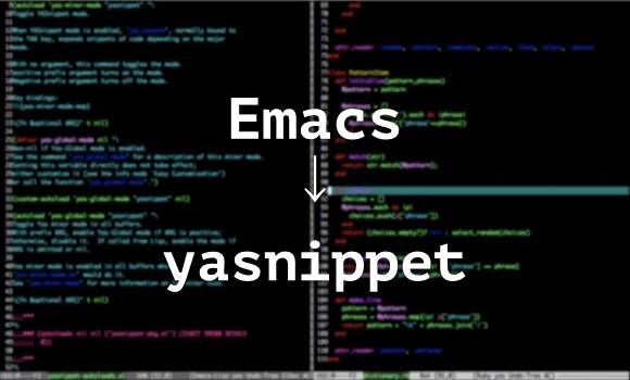 emacs-yasnippet