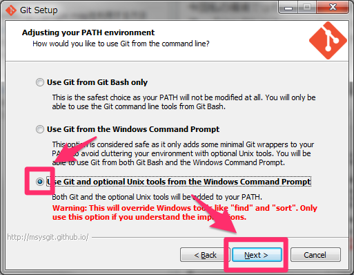 git-for-windows7